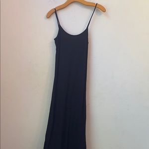 Sparkle & fade Urban outfitters black long dress